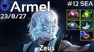 Armel [TNC] plays Zeus!!! Dota 2 7.20