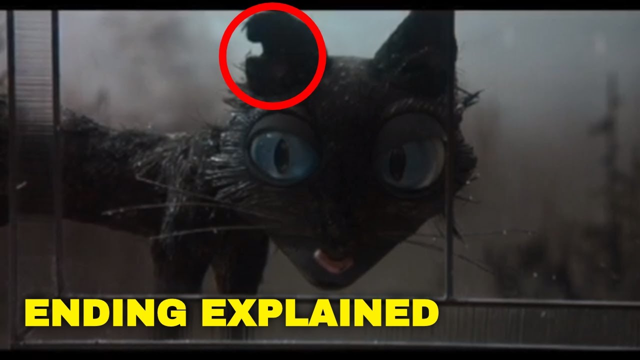 Coraline Ending Explained Why Did The Cat Disappear Youtube