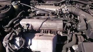 Видео-тест автомобиля Toyota Caldina ( St195-0092009, 3S-FE, черный, 1995г)