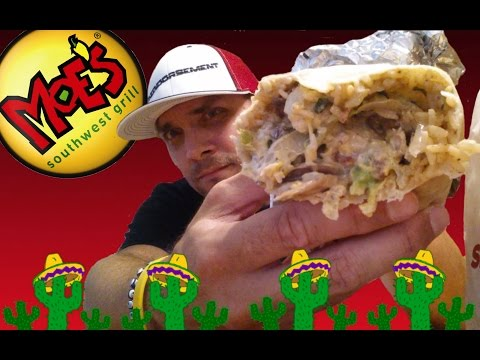 MOE'S SOUTHWEST GRILL JOEY BAG O DONUTS BURRITO REVIEW #119
