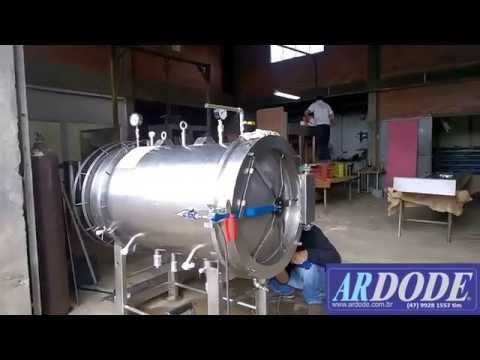 fabrica de autoclave a vapor para alimentos