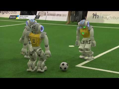 SPL: Berlin United – Nao Devils (3rd Place) [RoboCup German Open 2017]
