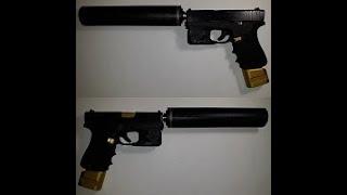Glock 43x Suppressed