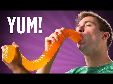 Thumbnail: World's Largest Gummy Worm [ORIGINAL VIDEO]