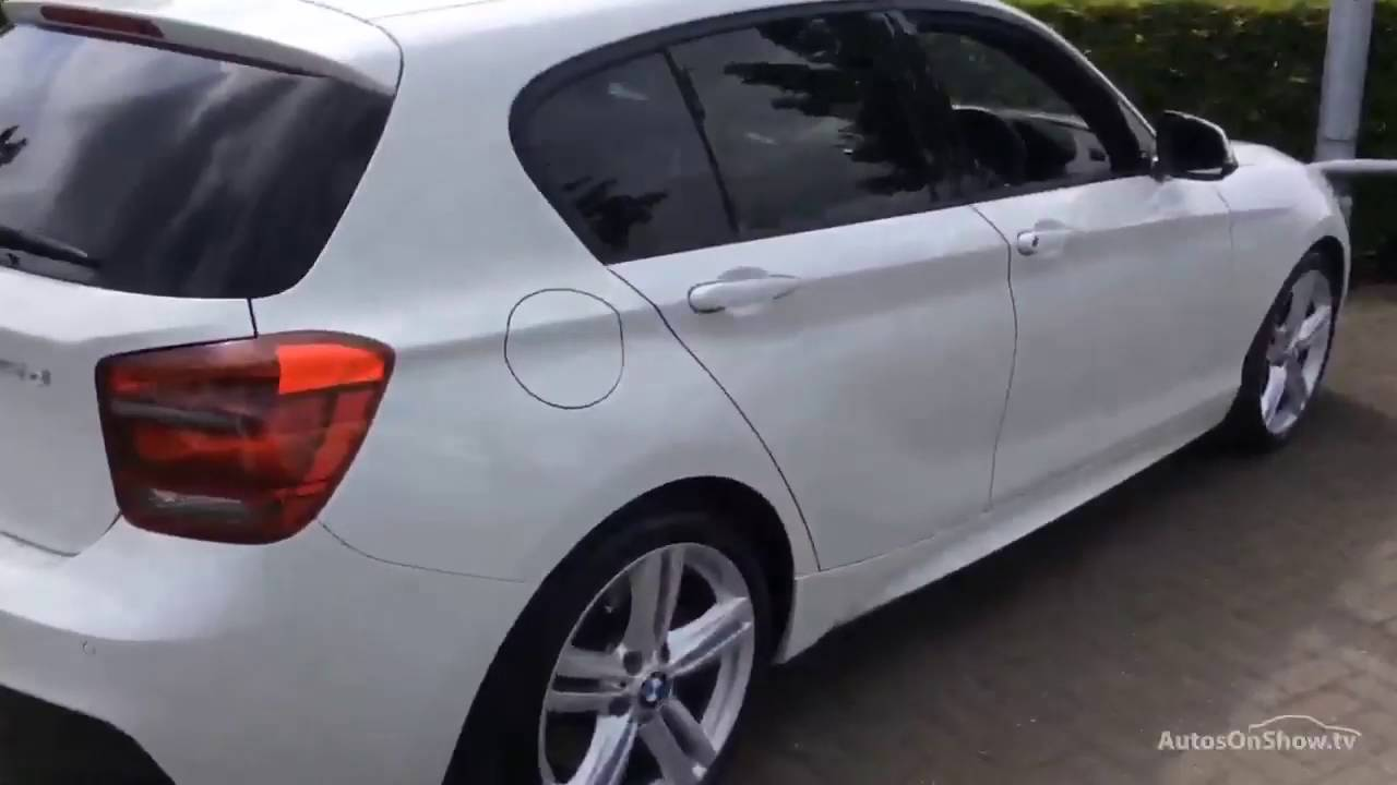 bmw 1 series 125d m sport white 2013 youtube. Black Bedroom Furniture Sets. Home Design Ideas