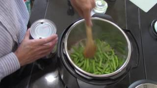 Real Southern Style Greenbeans in The Instant Pot