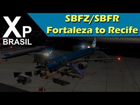 X Plane 11 -  Fortaleza to Recife - SBFZ/SBRF