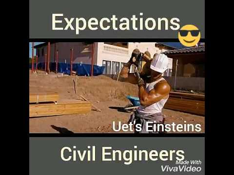 3aa54c8c Civil Engineers Funny | expectations vs Reality | uet Lahore | uet's  Einsteins | ksk