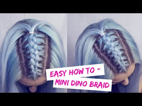 Easy How To Mini Dino Braid Love Fings