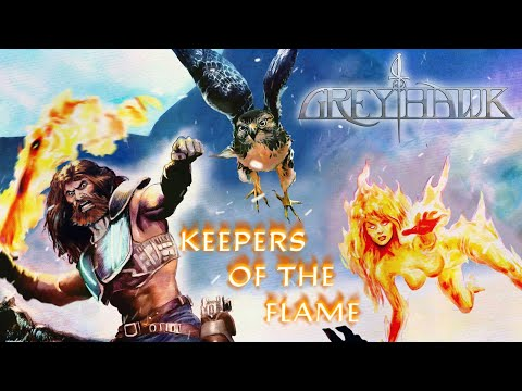 GREYHAWK - Keepers of the Flame (Official Lyric-Video) [2020]