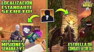 ⛏ SECRET COMBAT STAR ET SECRET BANNER SEMAINES 2 ET 3 FORTNITE BATTLE ROYALE