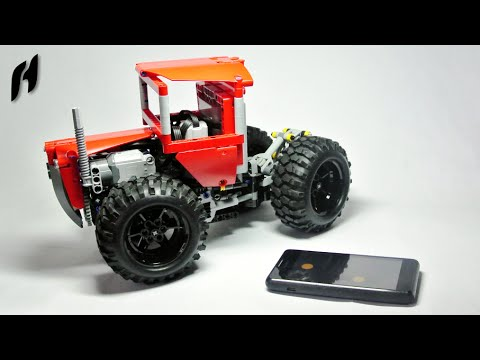 Lego Technic Articulated Tractor With Sbrick Remote