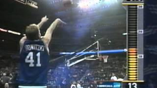 Dirk Nowitzki - 2001 NBA Three-Point Shootout