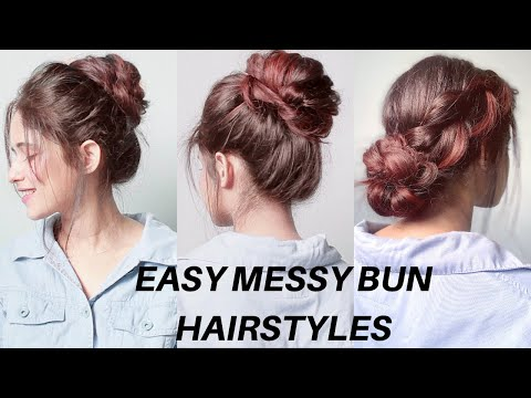 4-easy-messy-bun-hairstyles-for-long,-short-hair,-for-college,-office,-parties-|-anukriti-lamaniya