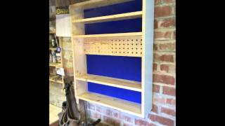 Router Bit Cabinet From Scrap Pallet Wood