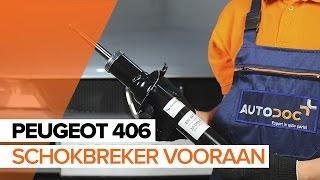 Hoe een schokdempers vooraan vervangen op een PEUGEOT 406 HANDLEIDING   AUTODOC