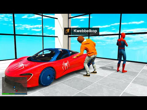 Stealing Every SPIDER-MAN Car In GTA 5 RP!