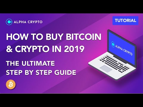 How To Buy Bitcoin & Cryptocurrency The Ultimate Step By Step Guide Tutorial 2019 2020 UK EU USA CAN