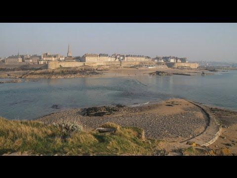 Saint-Malo vu du Grand Bé