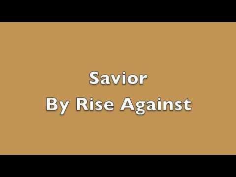 Savior by Rise Against lyrics