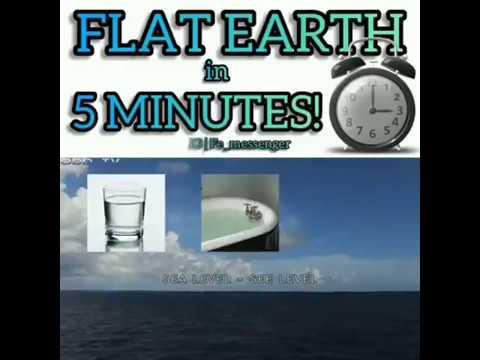 Flat earth in 5 mins thumbnail