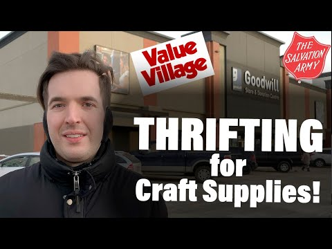 cheap-craft-supplies---thrifting-guide-for-beginners-2020---upcycled-crafts-to-sell