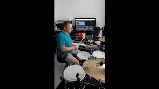 V4M - Dance Right Here - Teaser - Drum recording