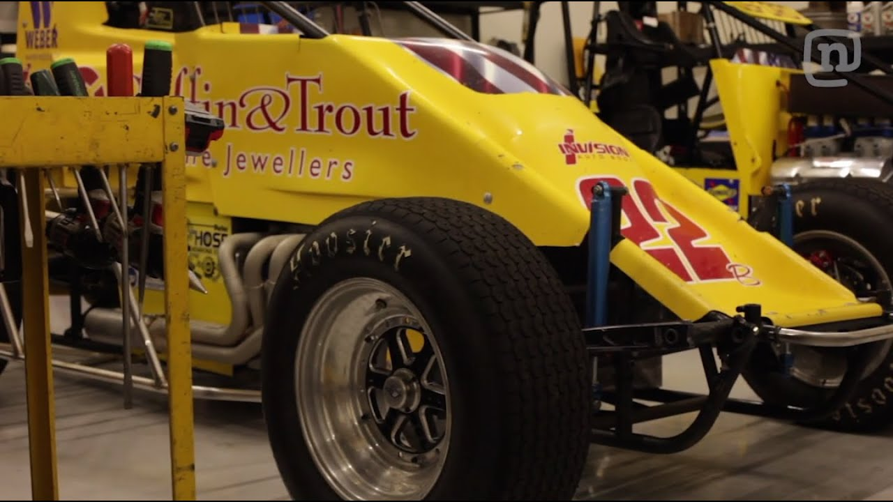 Garage tours with chris forsberg episode 6 sprint car for Garage sprint auto stains