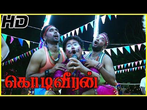 Sasikumar Walks On Fire As People Consider Him Holy | Kodiveeran Scenes | Andam Kidudunga Song