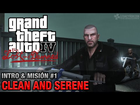 GTA: The Lost and Damned - Intro y Misión #1 - Clean and Serene (Español - 1080p 60fps)