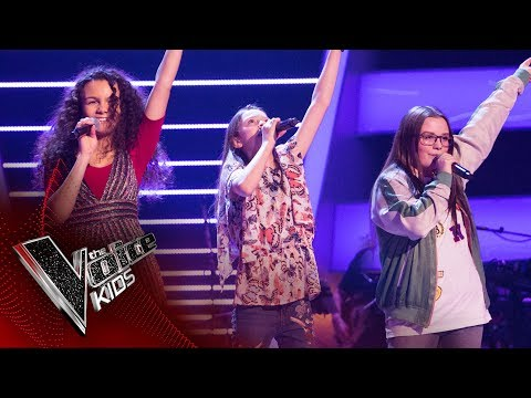 Courtney, Eboni, Hollie - 'Dancing In The Street': Battles | The Voice Kids UK 2017