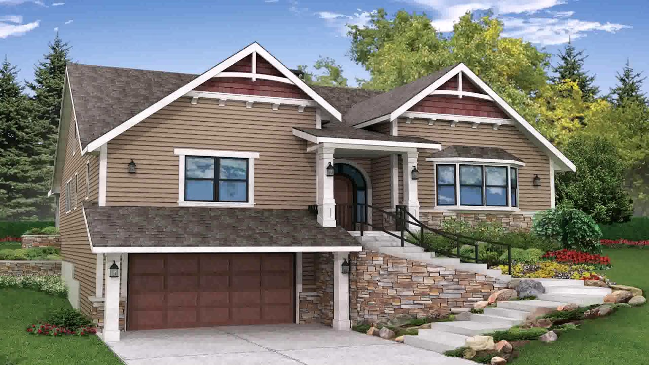 Narrow lot house plans with front garage philippines youtube for Narrow home plans with garage