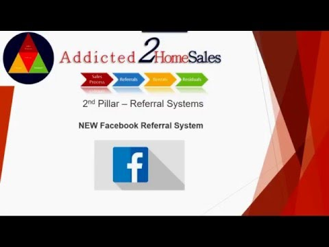 The 2nd Pillar to Success - Real Estate Referrals | Real Estate Leads