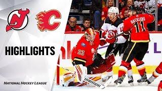 Nhl Highlights | Devils @ Flames 11/07/19