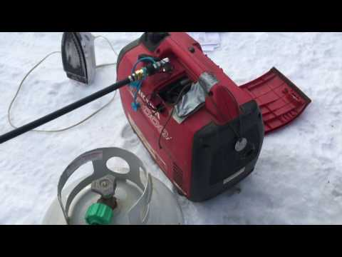 A Gas-Free Generator: Small Propane Power = Most Resilient