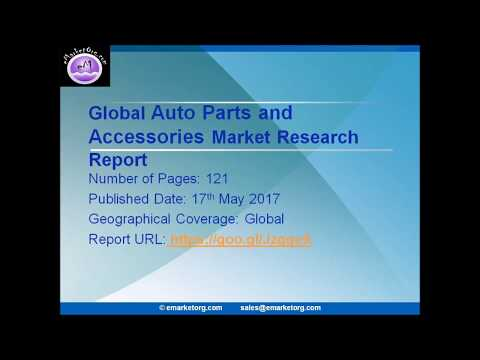 Auto Parts and Accessories Market 2017: Industry Demand, Insight & Forecast  By 2022