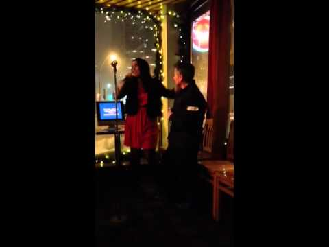 Karaoke: Kelley and Marti Dec 14 2013