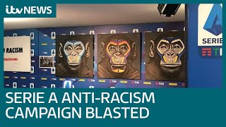 Ex England striker joins criticism of anti racism campaign from Italy s Serie A ITV News