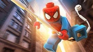 LEGO Marvel Super Heroes 100% Walkthrough Part 3 - Exploratory Laboratory (Venom Boss Fight)