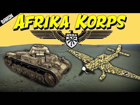 WAR THUNDER Afrika Korps ACE (War Thunder Tanks Gameplay)