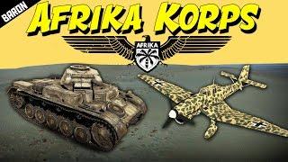 WAR THUNDER Afrika Korps ACE (War Thunder Tanks Gameplay)