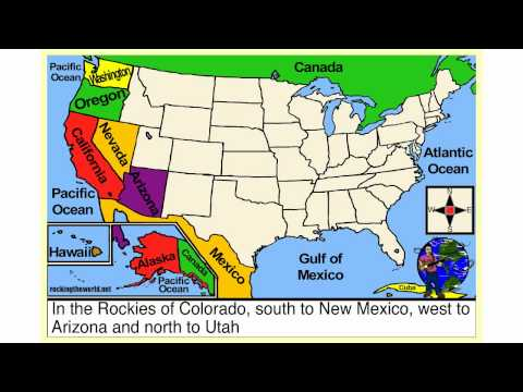 The Western States Geography Song