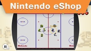 Nintendo eShop - NES Remix 2 - Find Luigi: Ice Hockey - Stage 9