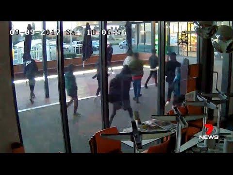 Seven + Nine News. Black Gang Rob Supermarket.(Cranbourne)(Multiculturalism)