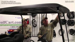 Ezgo Golf Cart Top Roof Rack | How To Install | Episode 11