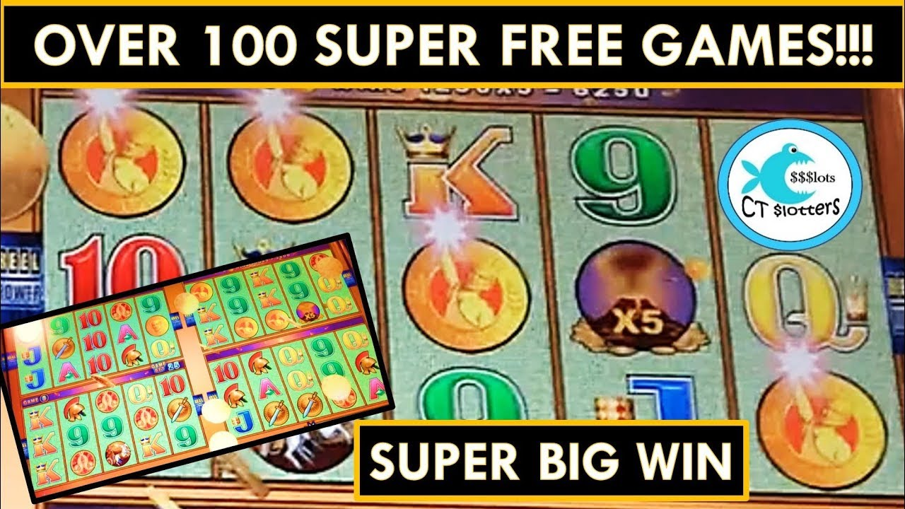 Super Big Win Pompeii Wonder 4 Slot Machine 100 Super