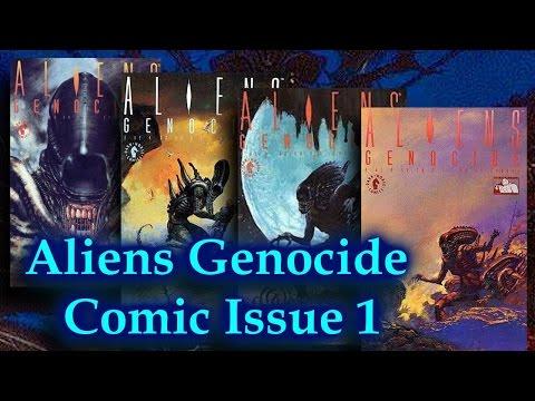Aliens Genocide Comic Book Issue 1 Dark Horse Comics