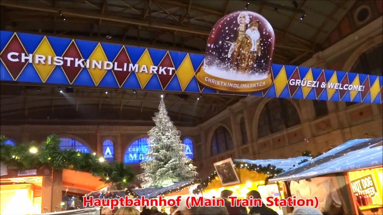 Zurich Christmas Trees, Lights, Markets & Luminarium - 2017 Advent ...