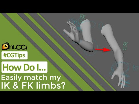 #CGTip | How Do I Easily Match My IK & FK Limbs?