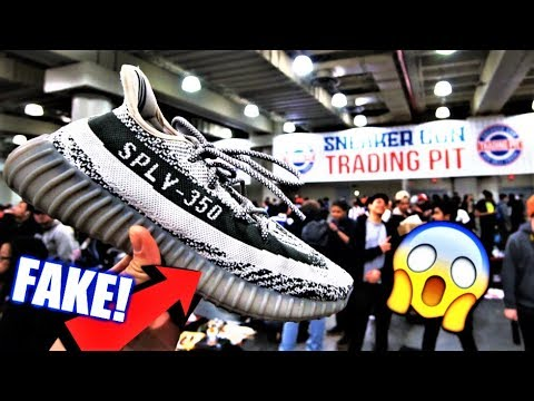 3c06ab16562ae TRADING FAKE YEEZYS PRANK AT A SNEAKER CONVENTION! - YouTube